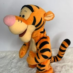 Bouncing Tigger the Tiger, Talking 1998  Pooh Vtg